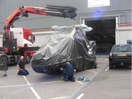 Chegada da primeira aeronave a ser modernizada às instalações da AgustaWestland