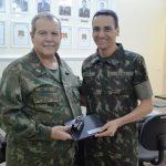 Comandante do CDDCFN visita o Centro de Instrução de Blindados