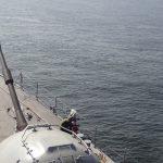 """MD coordena Exercício Avançado de Operações de Paz na Corveta """"Barroso"""" (V-34)"""