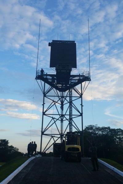 Destacamento de Controle do Espaço Aéreo de Cruzeiro do Sul (DTCEA-CZ) ampliou sua área de vigilância com a instalação do radar TPS-B34.3