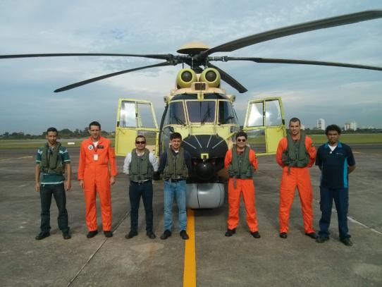 Helibras realiza primeiro voo de ensaio do sistema TDMS da Marinha