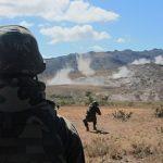 Força de Fuzileiros da Esquadra participa de adestramento da Força de Emprego Rápido