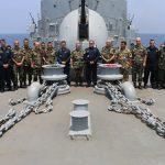 """FTM UNIFIL recebe delegação da Marinha do Líbano a bordo da Fragata """"União"""""""