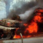 Vídeo mostra M1 Abrams sendo atingido durante operação no Iêmen
