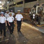 Arsenal de Marinha do Rio de Janeiro recebe comitiva da Armada do Equador