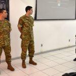 Centro de Instrução de Blindados recebe Militares Argentinos como Instrutores