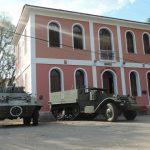 1º Esquadrão de Cavalaria Leve recebe viaturas históricas revitalizadas