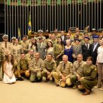 Câmara dos Deputados homenageia a participação brasileira na 2ª Guerra Mundial