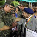 72º Batalhão de Infantaria Motorizado realiza Homenagem aos Pracinhas