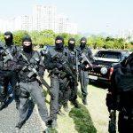 Tropa de elite federal treina para a 'guerra' da Olimpíada de 2016