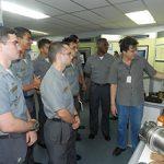 IPqM recebe visita de Aspirantes da Escola Naval