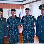 Comandante da EsACosAAe visita a Academia de Defesa AAe da Russia