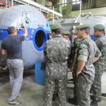 Força de Submarinos recebe alunos do Curso de Infantaria da EsAo