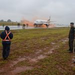 Tiro de Guerra 02/033 participa de simulação de resgate em queda de aeronave