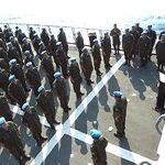 """Tripulação da Fragata """"União"""" (F45) é agraciada com medalha da ONU"""