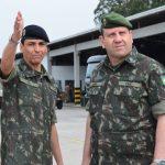 Chefe do Escritório de Projetos do Exército visita o Centro de Instrução de Blindados