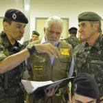 Ministro da Defesa Jaques Wagner Visita o Centro de Instrução de Blindados (CIBld)
