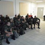 Comandante da 6ª Bda Inf Bld recebe Briefing do Exercício de Simulação Integrada