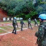 19º B I Mtz realizou estágio de nivelamento operacional de atirador designado