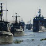 Marinhas de 5 países sul-americanos participam do exercício ACRUX VII