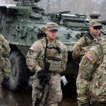 Alemães querem a retirada das tropas britânicas e norte-americanas do país