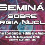 AMAZUL irá participar do 4°Seminário sobre Energia Nuclear