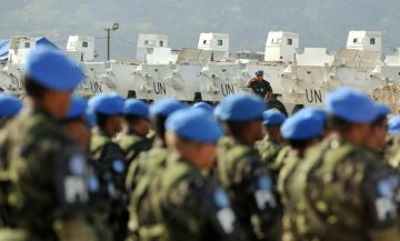Boinas azuis brasileiros no Haiti