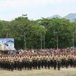 Cerimônia de brevetação dos novos paraquedistas do Exército Brasileiro