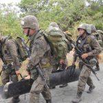 Exercício de sobrevivência na selva prepara futuros oficiais