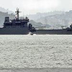 """NDCC """"Almirante Saboia"""" desatraca do Rio de Janeiro para a Comissão Haiti XXII"""