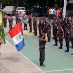 Policiais do 23º BPM foram homenageados por sua atuação no terceiro trimestre