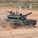 Russia recebe o primeiro lote dos novos blindados T-72B3