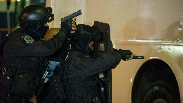 Unidades táticas da polícia estão treinando para responder a ameaças no Rio de Janeiro