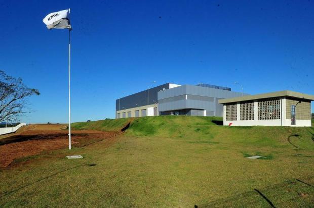 fábrica da KMW do Brasil em Santa Maria