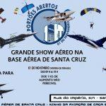 """Base aérea de Santa Cruz irá realizar o seu """"Portões Abertos"""" dia 01/11"""