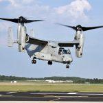"""Aeronaves """"Osprey"""" chegam ao Brasil para apoiar a Operação UNITAS Amphibious"""
