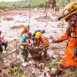 Corpo de Bombeiros Militar de Minas Gerais no resgate as vítima de Mariana/MG