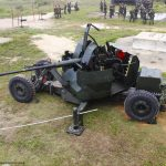 EsACosAAe realiza exercício de tiro real no estande do Centro de Avaliações do Exército
