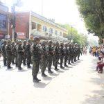Batalhão de Paraquedista do Exército promove desfile em Silva Jardim/RJ