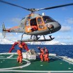 Helicópteros da Marinha participam de missão na Antártica durante seis meses