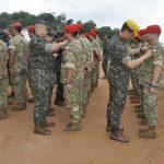 Brigada de Infantaria Pára-quedista realiza a brevetação de Paraquedistas Honorários