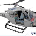 Helibras apresenta configurações aeromédicas para o H130