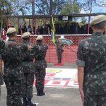 1° Esquadrão de Cavalaria Leve celebra o dia do soldado com ação educativa