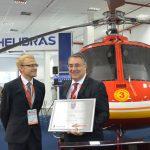 Helibras entrega novo Esquilo ao Corpo de Bombeiros de Santa Catarina