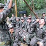 1ª Bda inf Sl realiza estágio de adaptação a vida na selva para funcionários da União