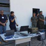 IACIT faz demonstração do bloqueador de drones para o Exército