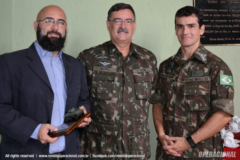 Rafael Sayão, Gen Div Sinott e Cel Baldassarri