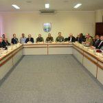 General Braga Netto recebe secretários de Segurança do Sudeste