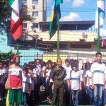 Grupo de história militar emociona o Brasil com homenagem a crianças italianas