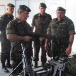 Comandante Logístico do Exército visita Base de Apoio Logístico do Exército
